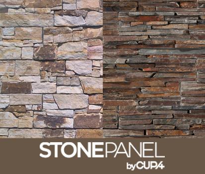 Cupa presenta dos nuevos modelos del panel de piedra - Panel de piedra natural ...