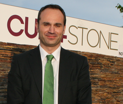 Carlos Loureiro, director de la división de piedra natural de CUPA