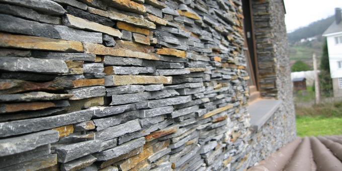 Cupa stone presenta el sistema de aislamiento stonepanel for Piedra natural para exterior