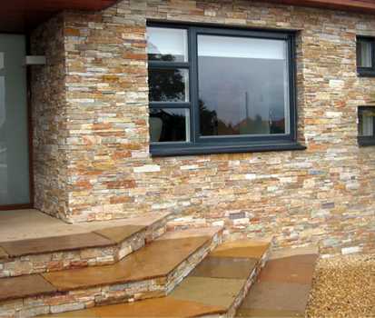 Stonepanel paneles de piedra natural para fachadas ecol gicas cupa stone - Piedra natural para fachadas ...