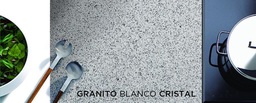 Encimera de Granito Blanco Cristal CUPASTONE