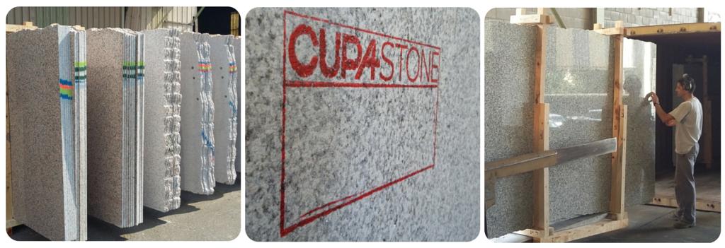 Distribuición del granito CUPASTONE
