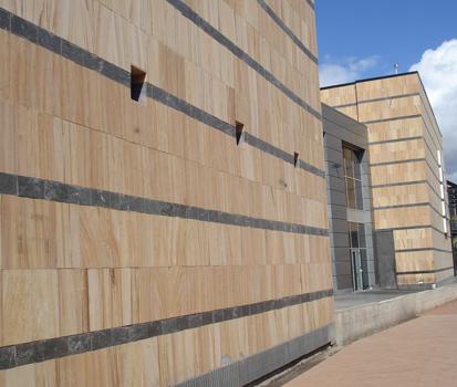Los 8 puntos clave para elegir una fachada ventilada de piedra natural cupa stone - Precio de piedra para fachada ...