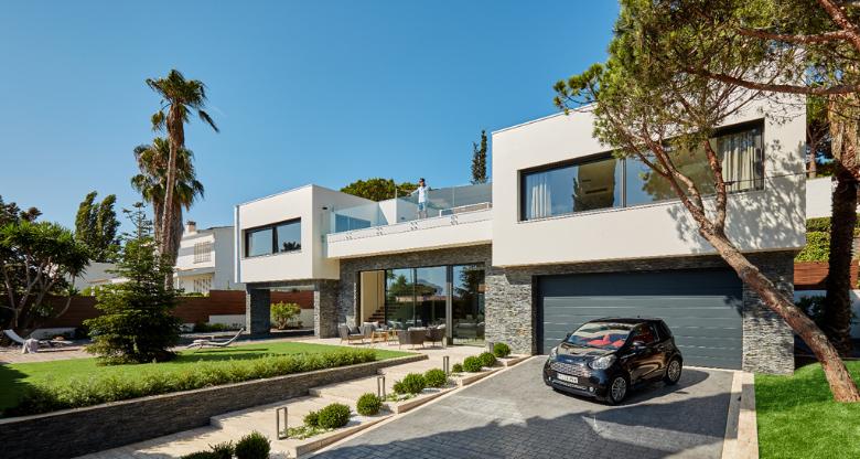 Casa SF con STONEPANEL