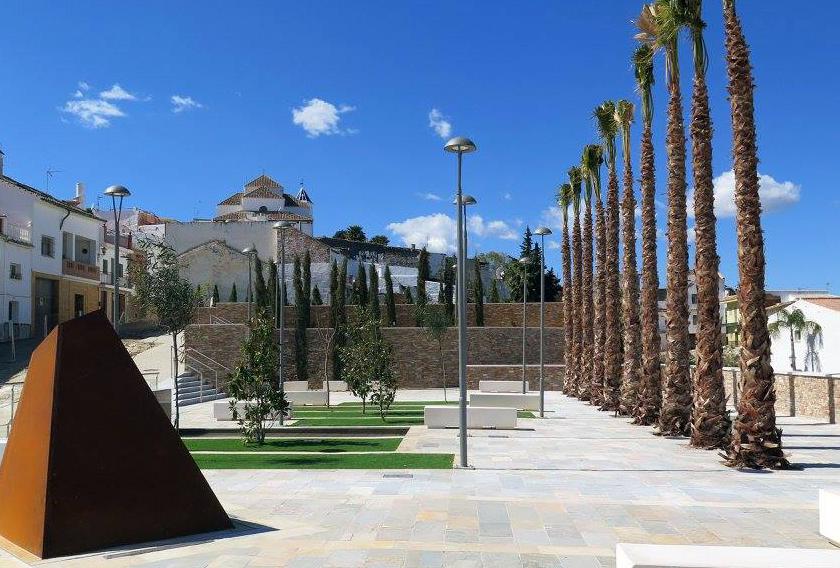 Proyecto de Estación de Autobuses de Alhaurín el Grande con piedra natural CUPA STONE