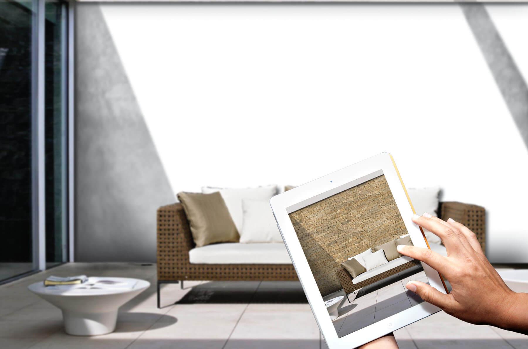 simulador de ambientes CupaStone