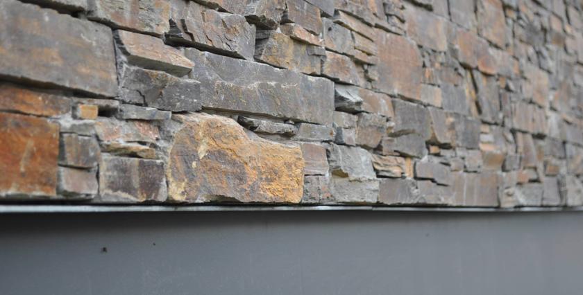 Aislamiento con piedra natural