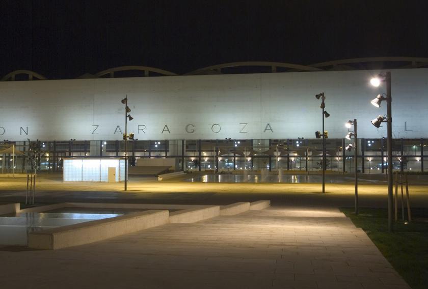 Estación de trenes Delicias de Zaragoza