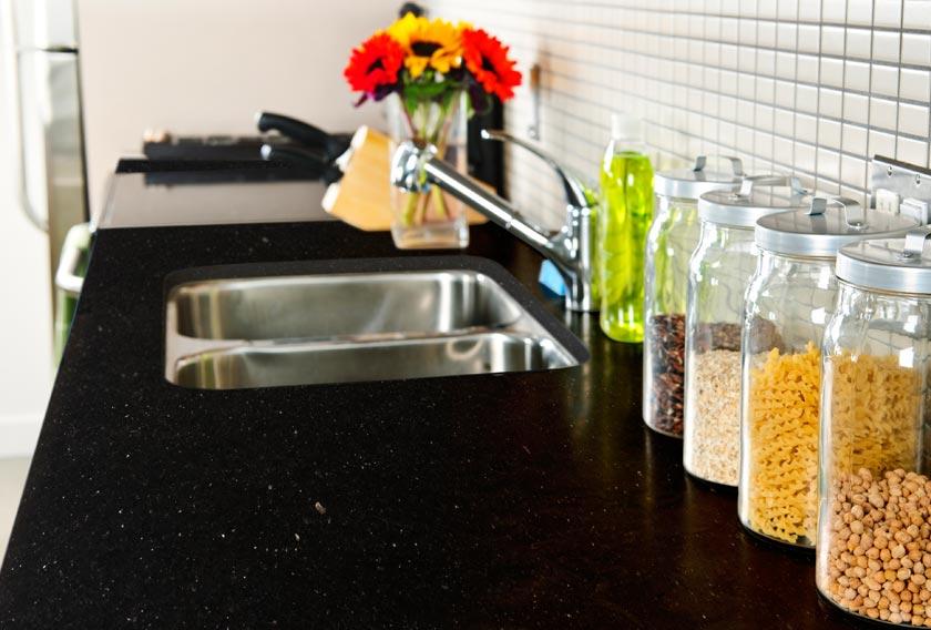 Cocinas con encimeras de granito