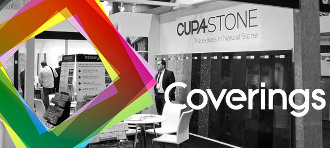 CUPA STONE will be present at Coverings 2017