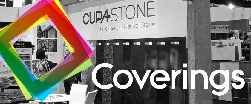 CUPA STONE participará en Coverings 2017