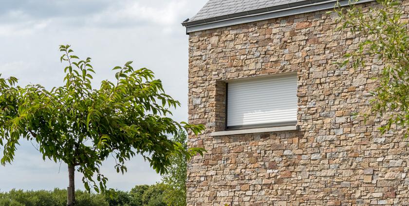 Piedra natural para edificación sostenible