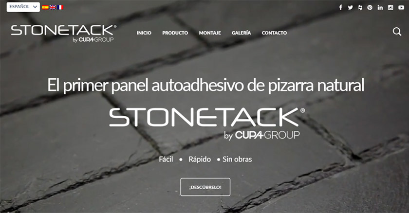 Nueva web STONETACK