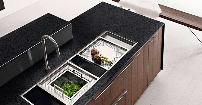 Encimera de granito para cocina