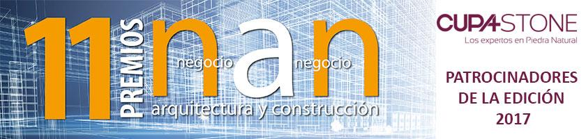 CUPA STONE patrocina los 11º Premios Nan de Arquitectura