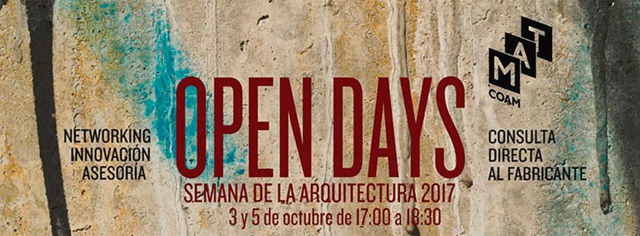 CUPA STONE participa en los Open Days del COAM