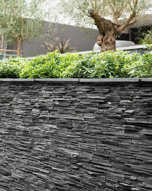 Stonepanel laja jet dark cupa stone - Panel piedra exterior ...