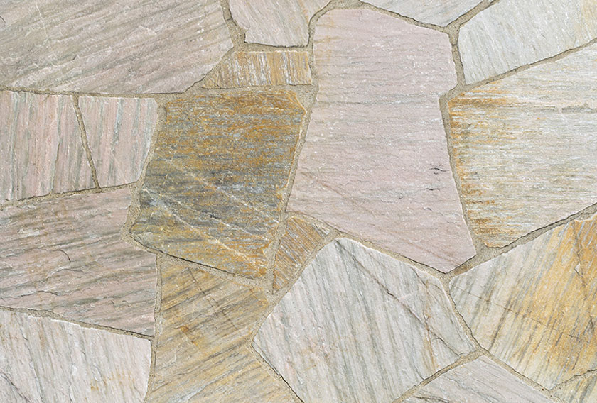 Cuarcitas de Villafranca: suelos de piedra irregular