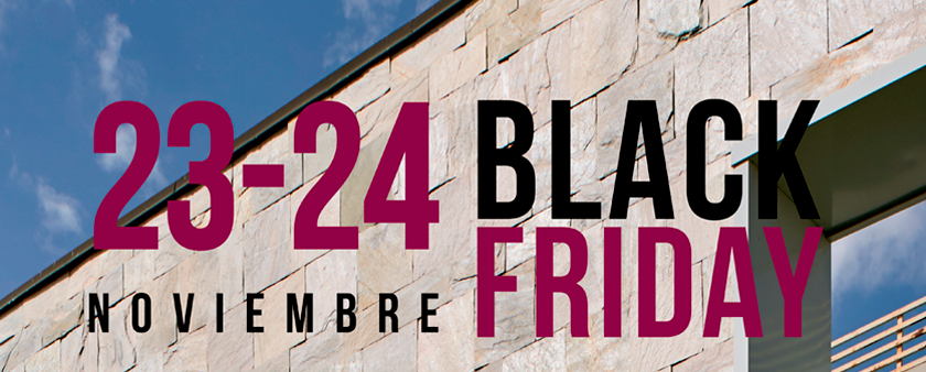 Black Friday en CUPA STONE Madrid