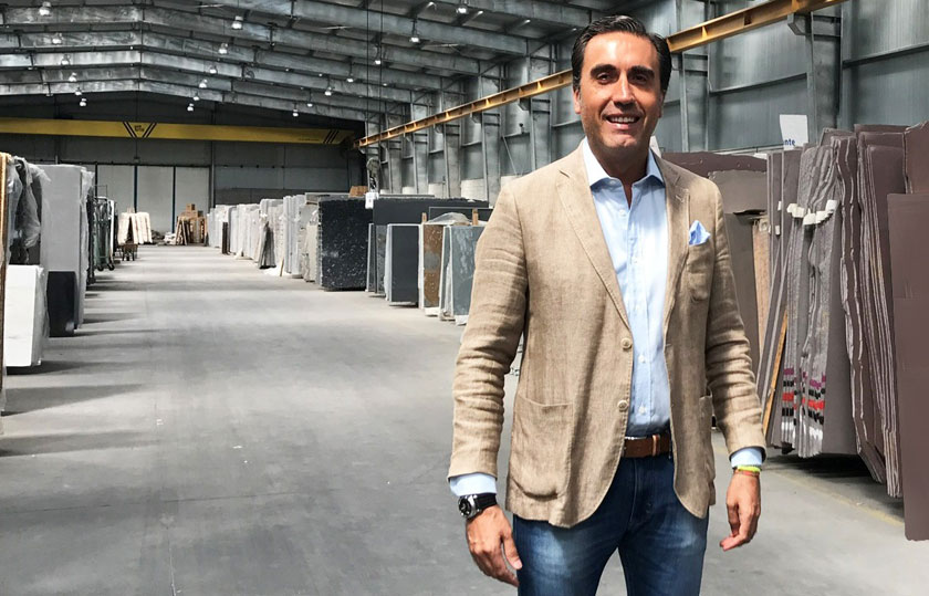 Guillermo Oviedo, gerente de la zona Noroeste de CUPA STONE