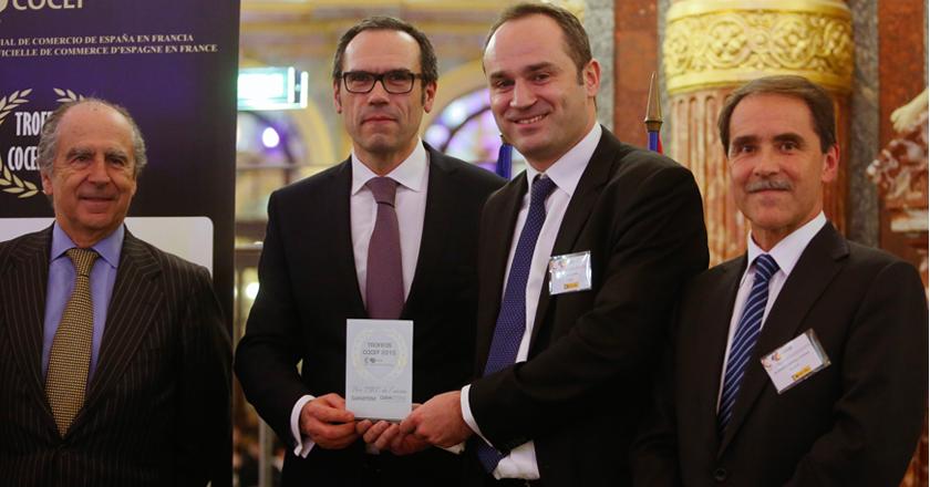 Premio Mejor Pyme CUPA STONE en Francia