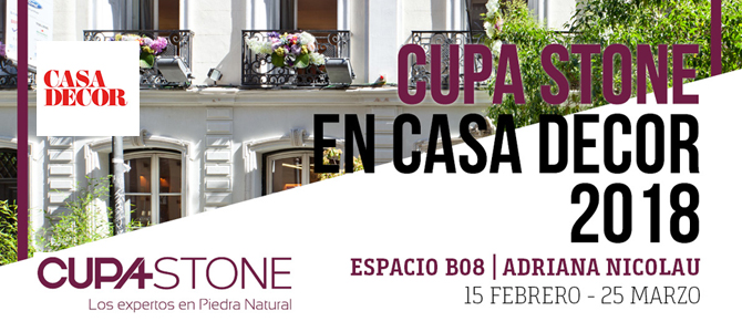 Cupa Stone en Casa Decor 2018