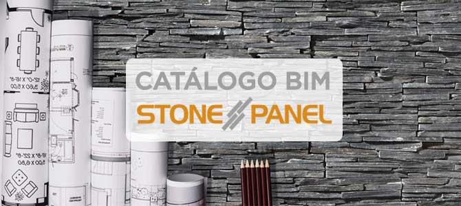 Catálogo de objetos BIM de Stonepanel®
