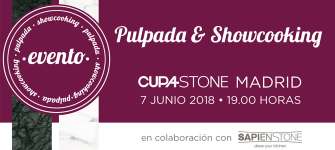 Evento en CUPA STONE Madrid