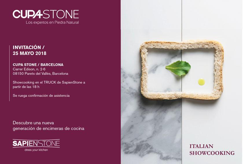 Evento de SapienStone en CUPA STONE Barcelona
