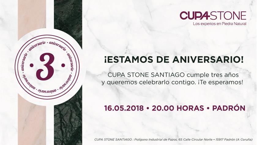 Tercer aniversario de CUPA STONE Santiago
