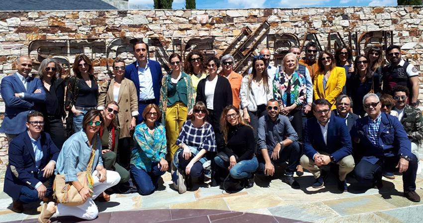 Visita de los interioristas de Casa Decor a CUPA STONE Madrid