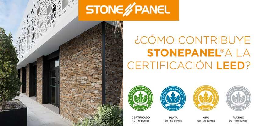 Como contribuye STONEPANEL a la certificación LEED