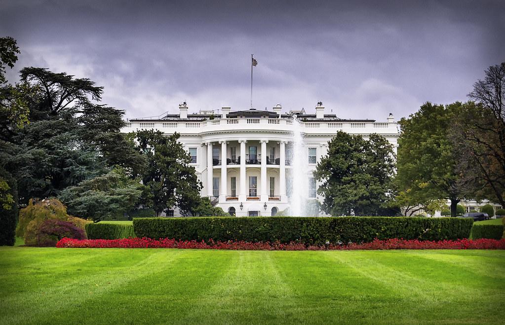 La Casa Blanca está cubierta con una arenisca de tonos claros