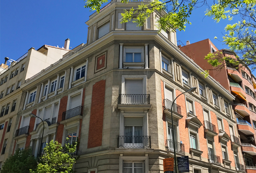 Edificio en el que se celebra Casa Decor 2019
