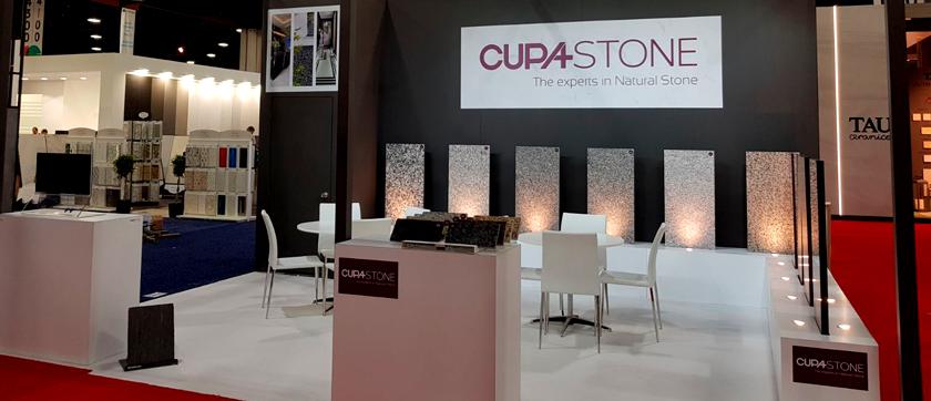 Participación de CUPA STONE en Coverings 2018