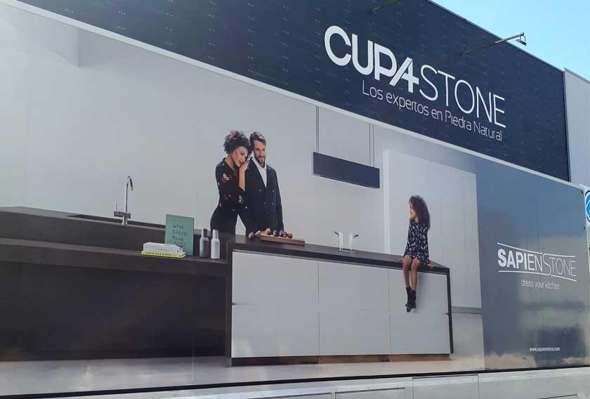 Showcooking de SapienStone en CUPA STONE Santiago