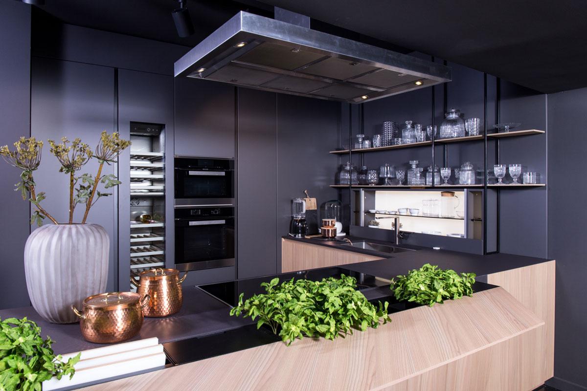 Cocina diseñada con materiales de Lapitec