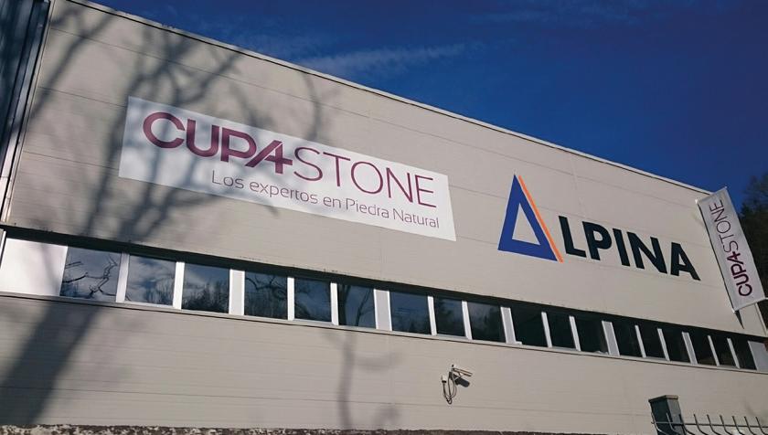 Centro de distribución CUPA STONE Alpina