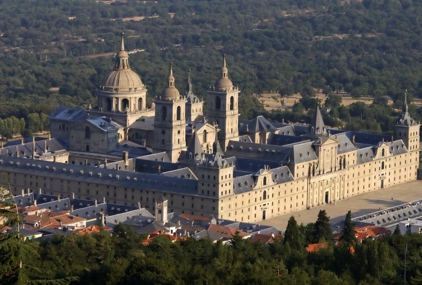 Palacio de San Lorenzo de El Escorial en Madrid.