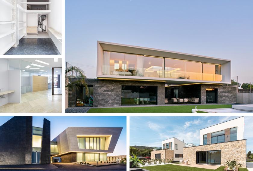 Top 5 posts más leídos de arquitectura con piedra natural Cupa Stone