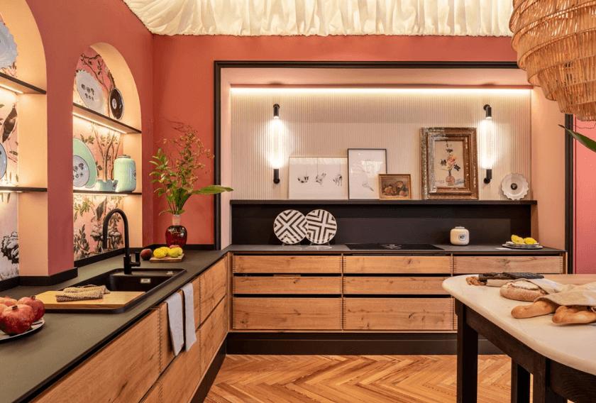 Casa Decor 2020    Dosde Espacio Cocinas para Hauka   Fotografía:  Nivelarte